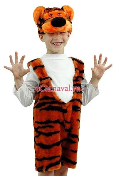 """Маскарадный костюм """"Тигрёнок"""". Животные. Интернет-магазин карнавальных и новогодних костюмов eCarnaval.ru."""